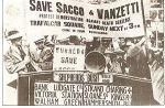 Sacco and Vanzetti trial protest