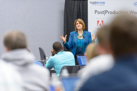 DeLouise teaching at NAB
